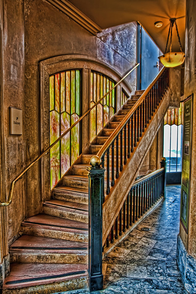 Stairway Up to the Crown