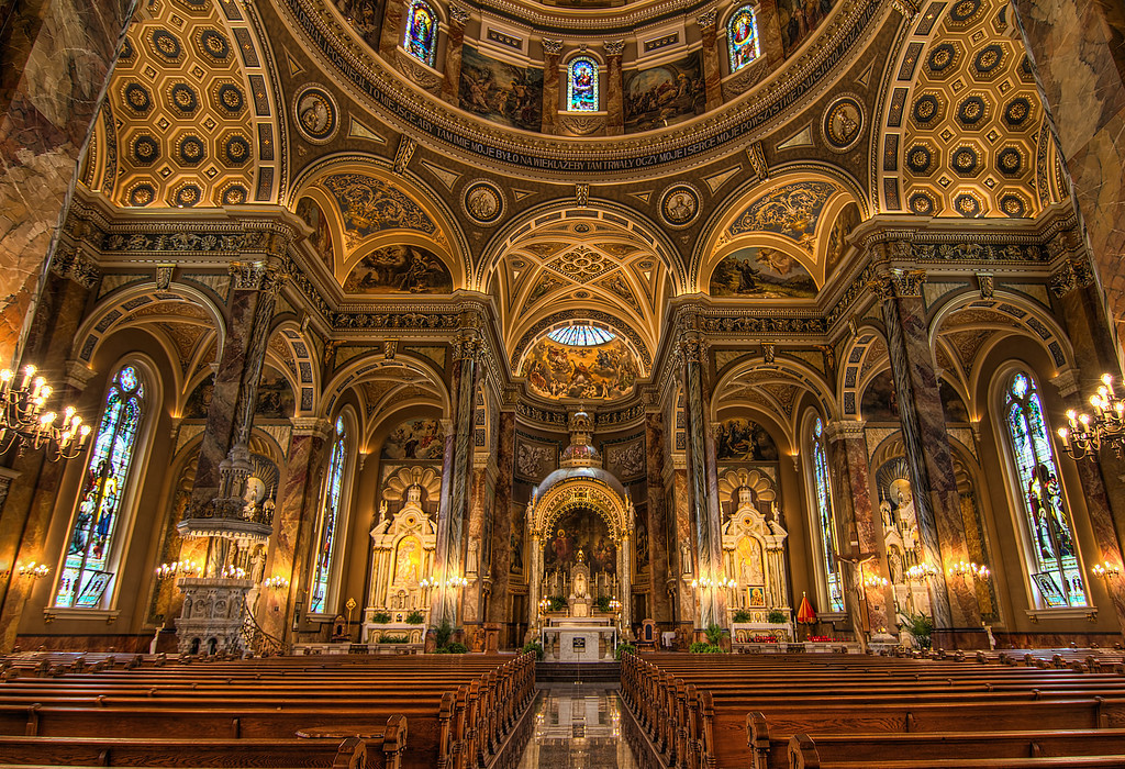 The Basilica of St. Josaphat in Milwaukee Wisconsin.