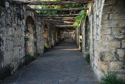 Portico Archway, Alamo