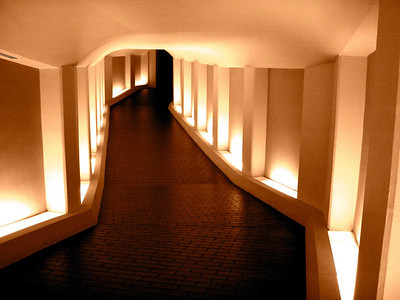 Tunnel to the Alley Theatre Soft Orange