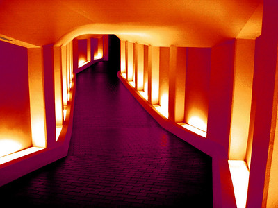 Tunnel to the Alley Theatre OP