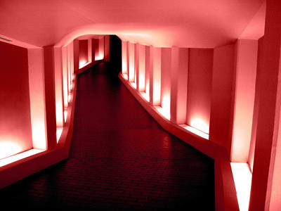 Tunnel to the Alley Theatre Soft Red
