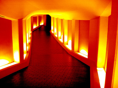 Tunnel to the Alley Theatre Orange
