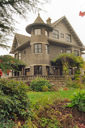 5125 NE Garfield Street - Another view of the Donahae House, designed by Alfred Faber and featured in his booklet, The House That Differs.