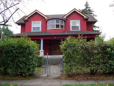 10 North Ainsworth Street - This very unique home's design is tentatively attributed to Alfred Faber.  However, it is very possible for another of Portland's leading architects of the day to have been its source, including Edgar Lazarus or H. L. Morgan.