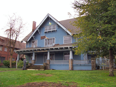 6329 NE Martin Luther King Blvd. - This house is positively attributed to Alfred Faber by an article in the Portland Daily Abstract.  It is the sole surviving example of many grand houses Faber designed which faced what was then Union Avenue.