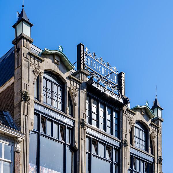 Dagelijkse Groenmarkt 25 - 26, Art Nouveau Architecture