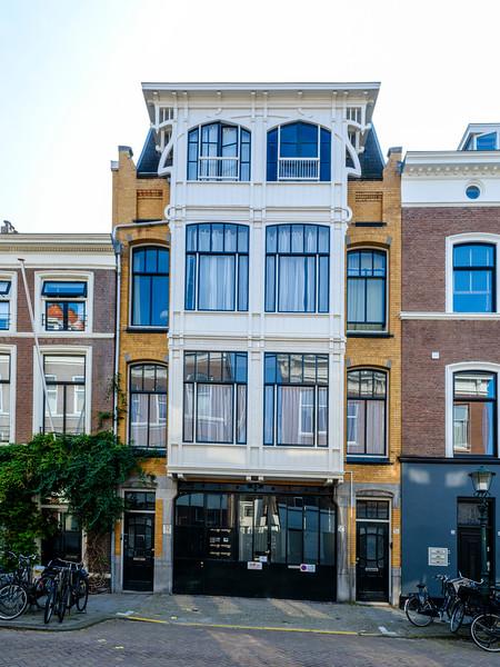 De Ruijterstraat 52, Art Nouveau Architectural Elements