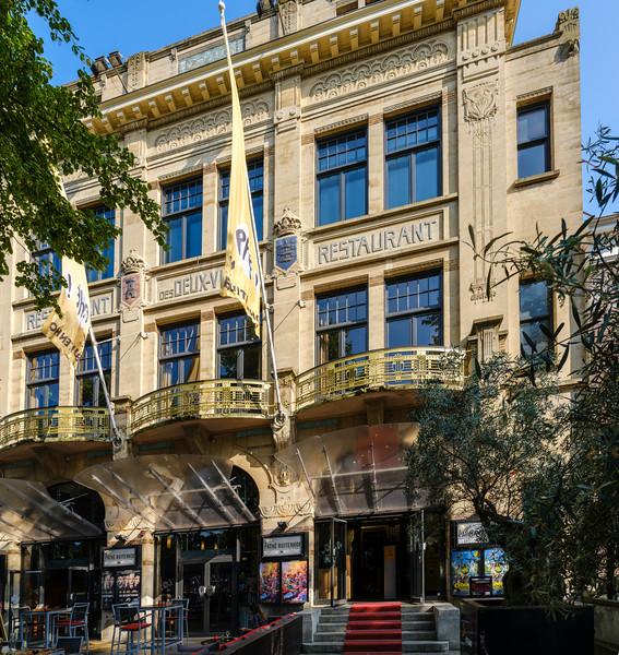 Buitenhof 20, Art Nouveau Architecture