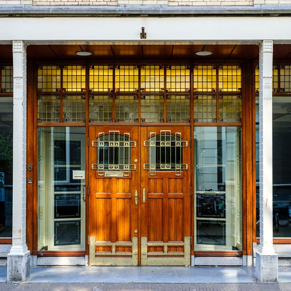 Lange Houtstraat, Art Nouveau Architectual Elements