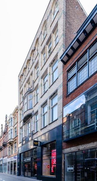 Spuistraat 16, Art Nouveau Architecture