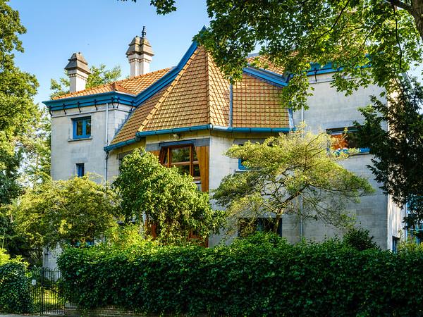 Wagenaarweg 30, Art Nouveau Architecture