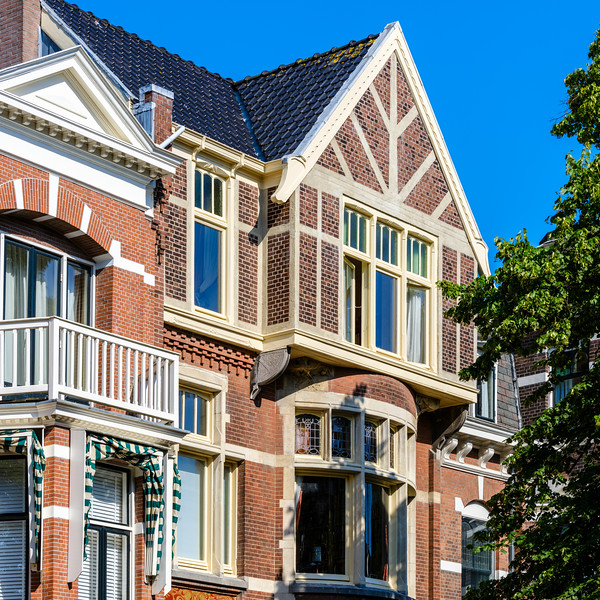 Jan van Nassaustraat 35, Art Nouveau Architecture