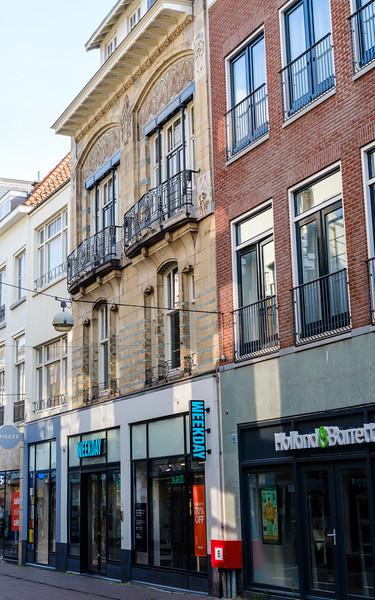 Venestraat 29, Art Nouveau Architecture