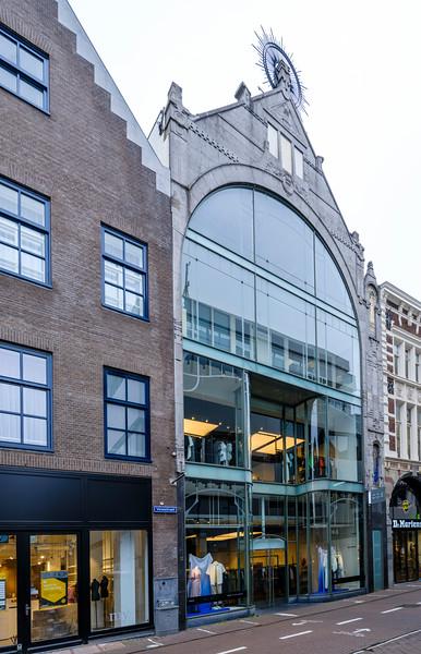 Venestraat 17 - 19, Art Nouveau Architecture