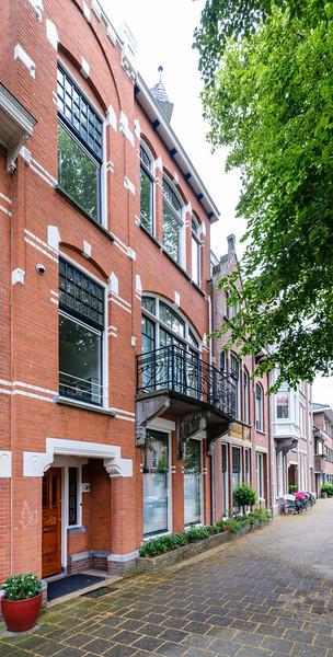 Frederik Hendriklaan 30, Art Nouveau Architecture