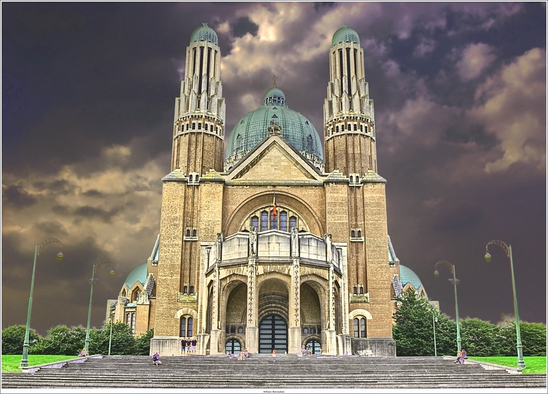 National Basilica of the Sacred Heart, Brussels Belgium