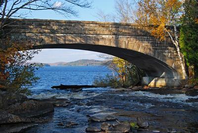 Bog River Bridge - Tupper Lake