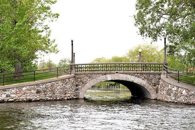 Patterson Creek Bridge - Rideau Canal, Ottawa, Ontario, Canada