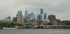 Philadelphia Skyline from the Camden Waterfront in New Jersey