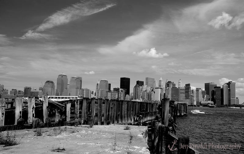 New York & New Jersey City Skyline from Liberty State Park