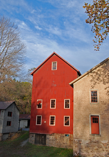 Prallsville Mills at Stockton - Grain Mill - Sergeantsville, NJ