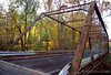 Iron Truss Bridge, built by the King Iron Bridge Company of Cleveland, Ohio on Mine Road over Stony Brook in Hopewell Township, NJ.