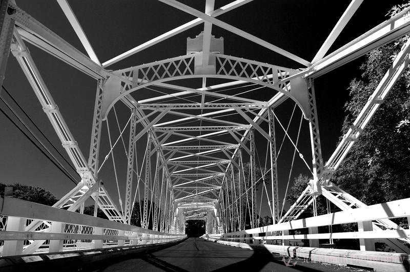 Neshanic Station Lenticular Truss Bridge