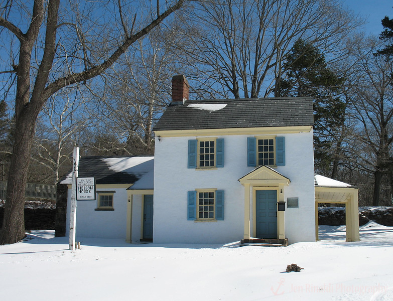 State of New Jersey Historic Site - Nelson House Circa 1850