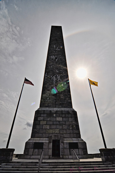 High Point Monument, a 220-foot (67 m) tower, built in 1930 to commemorate the war dead.
