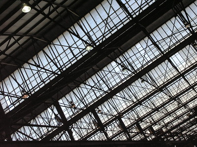 Large scale hangars