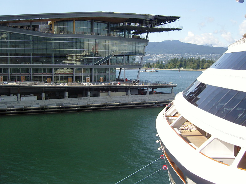 NV 10 MP Samsung Vancouver new convention center at waterfront seen from Canada Place