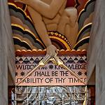 Wisdom, Rockefeller Plaza
