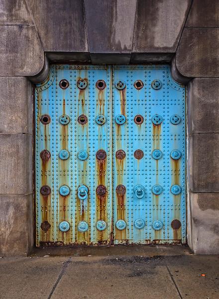 Benjamin Franklin Bridge Abutment Door #2
