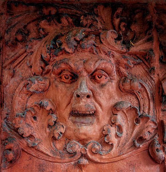 Red Face, Wall Relief
