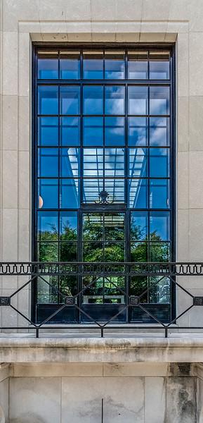 Rodin Museum East Window