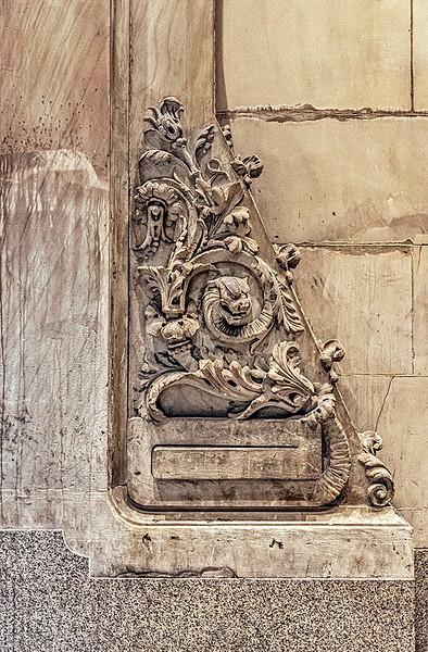 South Portal Sculptural Relief