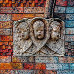 Three Cherub Heads