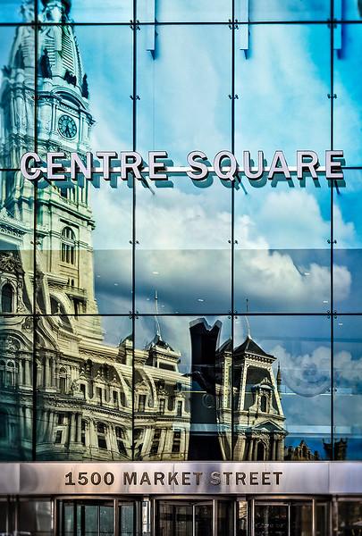 Centre Square, City Hall Reflection