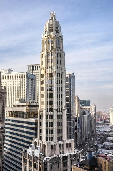 Mather Tower (Architect: Herbert Hugh Riddle)