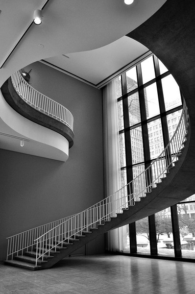 Interior Stairwell, Art Institute of Chicago