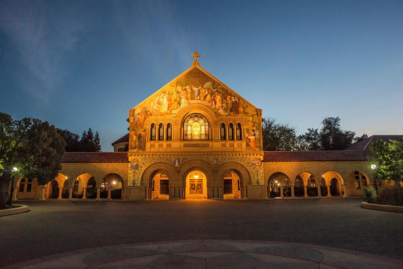 Stanford Memorial Church (Architect: Jane Lathrop Stanford)