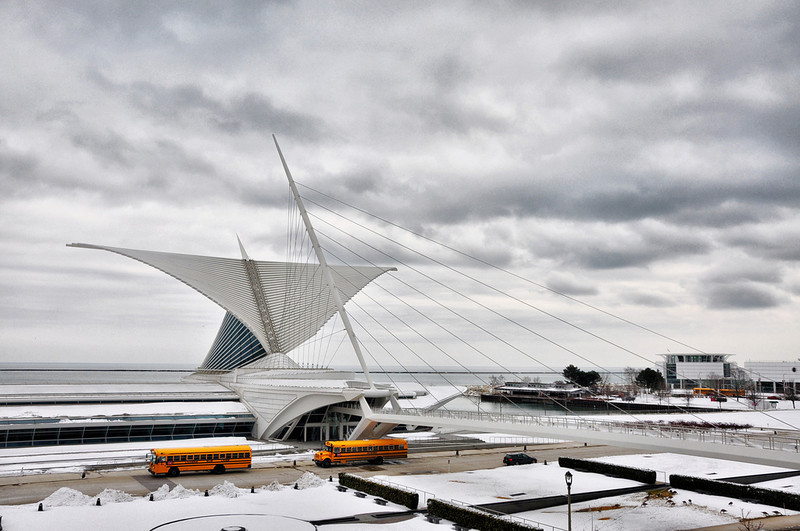 Milwaukee Art Museum (Architect: Santiago Calatrava)