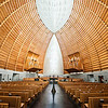 Nave, The Cathedral of Christ the Light (Architect: Craig W. Hartman)