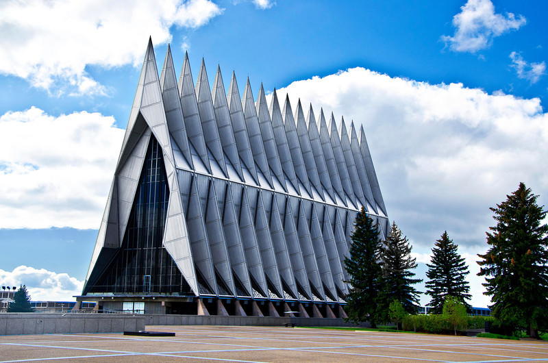 Air Force Academy Chapel (Architect: Walter Netsch)