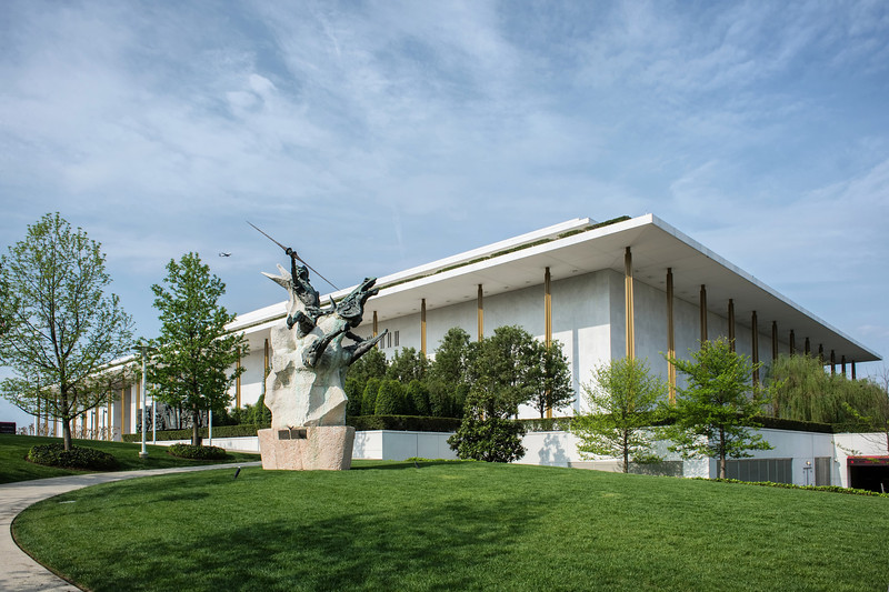 The John F. Kennedy Center for the Performing Arts (Architect: Edward Durell Stone)
