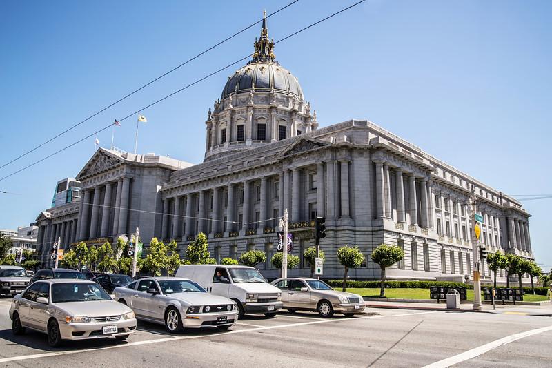 San Francisco City Hall Building (Architect: Arthur Brown, Jr.)