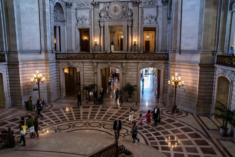 San Francisco City Hall Rotunda (Architect: Arthur Brown, Jr.)
