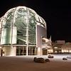San Jose City Hall Rotunda (Night) (Architect: Richard Meier)