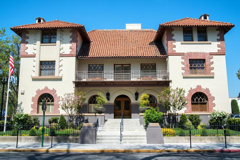 The Sainte Claire Club (Architect: A. Page Brown)